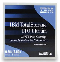 IBM LTO6- 2.5/6.25TB DATA CARTRIDGE