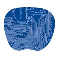 SUPER THIN MOUSE PAD - 1MM BLUE