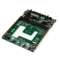 Dual mSATA SSD to 2.5 SATA RAID Adapter