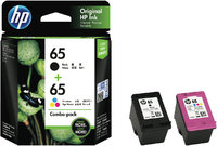 HP #65 Black & Colour Ink Pack