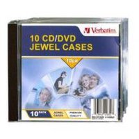 Verbatim CD/DVD Jewel Cases 10 Pack