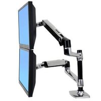 LX Dual LCD vertical Stacking Arm ALM