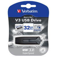 Store'n'Go V3 USB 3.0 Drive 32GB (Grey)