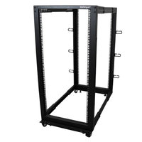 25U Adjustable Depth 4 Post Server Rack