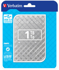 2.5IN STORE N GO PORTABLE 1TB SILVER