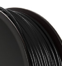 PLA 3.00mm Black 1kg reel