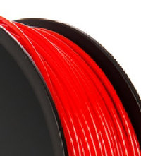 PLA 3.00mm Red 1kg reel