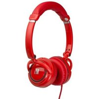 ON-EAR STREET AUDIO HEADPHONES - RED