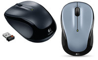 M325 WIRELESS MOUSE - DARK SILVER (U)