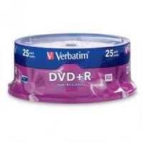 DataLifePlus Verbatim DVD+R 4.7GB  25 Pack Spindle 16x