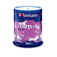 DVD+R 4.7GB 100Pk Spindle 16x