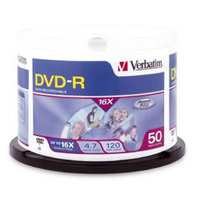 DVD-R 50Pk Spindle-4.7GB 16x
