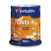 DVD-R 4.7GB 100Pk Spindle 16x