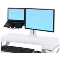 WORKFIT LCD & LAPTOP KIT WHITE