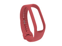 TOUCH TRACKER STRAP - CORAL RED (S)