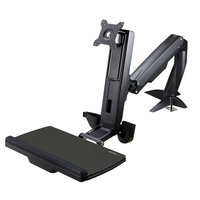 Monitor Arm Height Adjustable Sit Stand