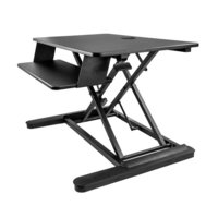 Sit Stand Desk Converter - Large 35in W