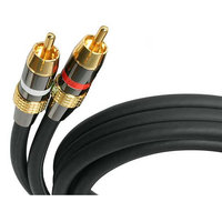 30 FT PREMIUM STEREO AUDIO CABLE RCA M/M