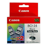 Canon BCI24 Black Twin Pack