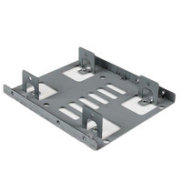 Dual 2.5 SATA HDD to 3.5 Mount Bracket