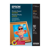 EPSONC13S042539 PHOTO PAPER GLOSSY A4 50 SHEET