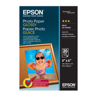 EPSON C13S042546 PHOTO PAPER GLOSSY 4X6 20 SHEET