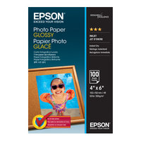 EPSON C13S042548 PHOTO PAPER GLOSSY 4X6 100 SHEET