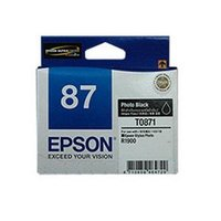 T0871 INK CARTRIDGE PHOTO BLACK R1900