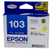 103 EXTRA HIGH CAP INK CARTRIDGE YELLOW