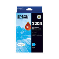 Epson 220 HY Cyan Ink Cart