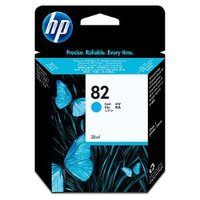 HP No.82 Cyan Ink Cartridge - 3,200 pages