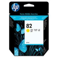 HP No.82 Yellow Ink Cartridge - 3,200 pages