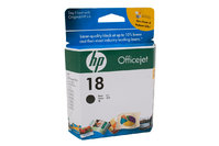HP No.18 Black Ink Cartridge - 850 pages