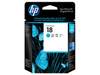HP No.18 Cyan Ink Cartridge  - 900 pages