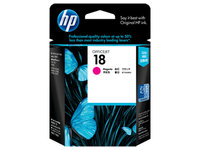 HP No.18 Magenta Ink Cartridge  - 900 pages