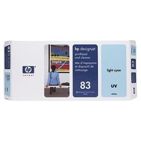 83 UV Lt Cyan PH and Cleaner C4964A