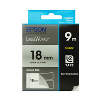 Tape Clear 18mm Black 9 metres