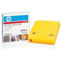 HP LTO3 RW with Customize Label 20 Tapes