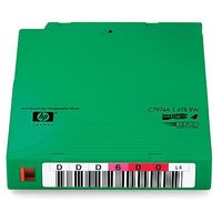 HP LTO4 RW with Customize Label 20 Tapes