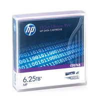 HP LTO6 Ultrium 2.5TB/6.25TB RW Data Car