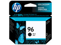 HP No.96 Black Ink Cartridge - 21ml - 800 pages