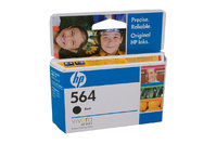 HP No.564 Black Ink Cartridge - 250 pages
