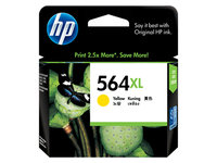 HP No.564XL Yellow Ink Cartridge - 750 pages