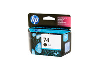 HP No.74 Black Ink Cartridge - 220 pages