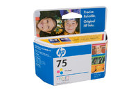 HP No.75 Colour Ink Cartridge - 170 pages