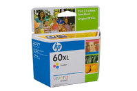 HP No.60 Colour XL ink Cartridge - 440 pages
