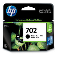 HP No.702 Black Ink Cartridge - 600 pages