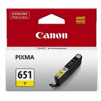 Canon CLI651 Yellow Ink Cart