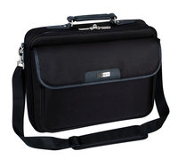 16in CN01 NOTEPAC BLACK LAPTOP BAG