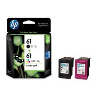 HP #61 Black & Colour Ink Pack